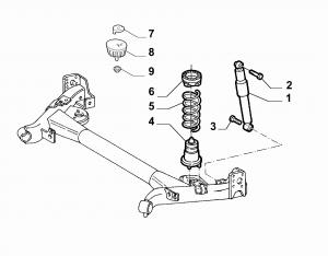 REAR SELF LEVELING SUSPENSION